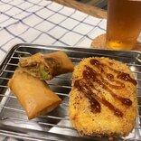 「大豆のお肉」でメンチカツを作ろうとしたら失敗して春巻きとコロッケが出来上がった話