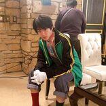 山田裕貴、私服衣装のオフショット「え?変じゃないと思いますよ」