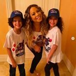 マライア・キャリー、双子の9歳誕生日に幸せなスリーショットを公開