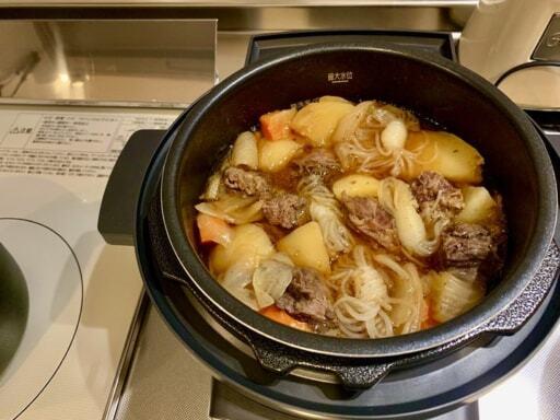 電気圧力鍋で時短レシピ