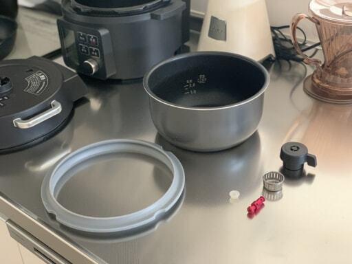 電気圧力鍋のお手入れ