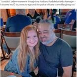 年の差夫婦、妻(22)が童顔すぎて夫(49)が少女誘拐で通報される(米)