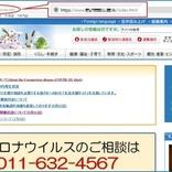 札幌市や神戸市などそっくりな偽サイトが多数見つかる 政府、海外ドメインのURLに注意呼びかけ