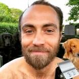 """キャサリン妃の弟ジェームズさん、婚約者に""""素顔""""を初披露 7年ぶりの髭剃りで一番心配したのは…"""