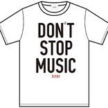 水野学や千原徹也らのオリジナルTシャツ販売、J-WAVE「#音楽を止めるな」×BEAMS RECORDS