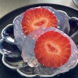 水大福を「片栗粉+砂糖+苺」で作る方法とは? レシピ「ぷるぷるいちご水大福」