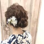 セミロングさんのお祭りヘア21選!浴衣に似合う髪型アレンジと簡単なやり方!