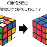 視覚・触覚を駆使せよ!『ルービックキューブ ユニバーサルデザイン』