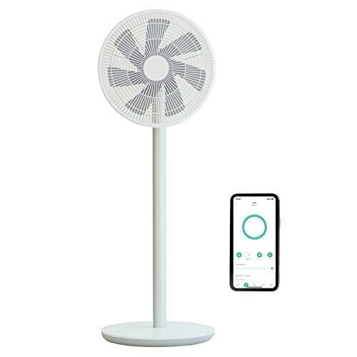 Smartmi スマート扇風機 2S バッテリー搭載 コードレス 最大20時間連続使用 DC扇風機 7枚羽 静音 100段階風量調節 アプリ操作 タイマー/スケジュール設定 ※リモコンは付属しません