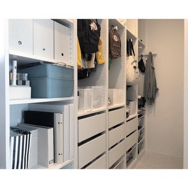 IKEAのパックスシステムを使って収納