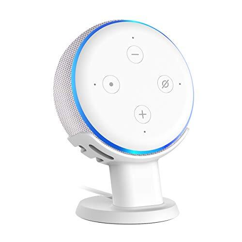 SPORTLINK Dot3 卓上スタンド Dot 第三世代(2018 New モデル)卓上マウント スマート すポーカー スタンド Dot3 カバー ドット3 ケース (卓上スタンド ホワイト)