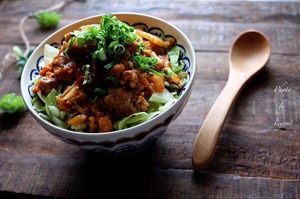 キムチの大量消費☆人気レシピ《ご飯もの》2