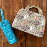 夏のお出かけの強い味方!リンネル7月号付録「ムーミン×フィンレイソン」の保冷バッグ&ペットボトルホルダーが超便利!