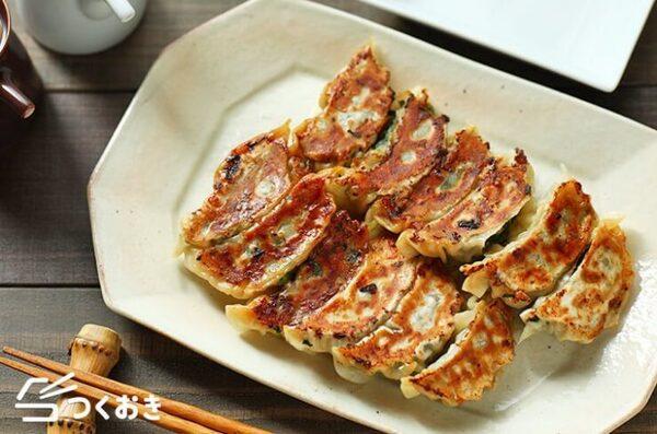 大量消費で美味しいレシピ!簡単な小松菜餃子