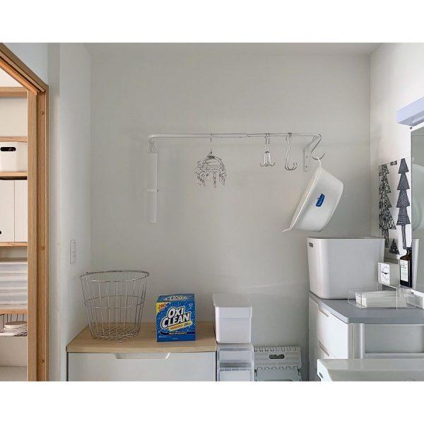 家事動線がスムーズな洗面所収納