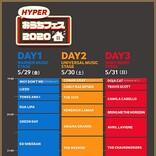 洋楽メジャー3社による共同企画【HYPERおうちフェス 2020】が今週末LINE LIVEで開催決定