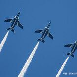 「ありがとう」「励まされる」 ブルーインパルス、医療従事者への感謝で東京上空を飛行