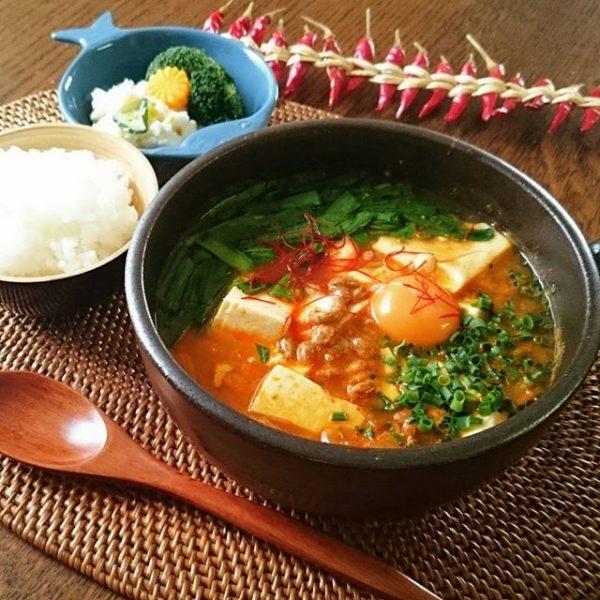 納豆の大量消費に!韓国風鍋チョングッチャン