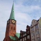 世界遺産の町リューベックで船乗りと漁師に捧げられたヤコビ教会を訪ねる