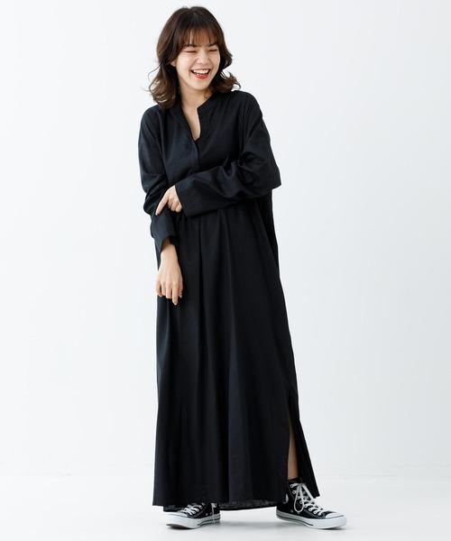 [MILKFED.] STAND COLLAR DRESS