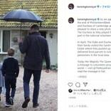 ウィリアム王子、子供達と雨の中でボランティア活動 キャサリン妃撮影の写真が公開