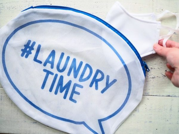 【ダイソー】見た目もおしゃれな洗濯ネット