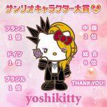 yoshikittyが世界各国で圧倒的な人気、YOSHIKI「テーマ曲も作曲しようかな(笑)」