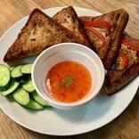 【レシピ】簡単おつまみ!タイのエビ揚げパン「カノムパンナークン」