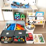 100均でおもちゃを上手に収納♪簡単に片づけられてすっきり整理できるアイデア特集