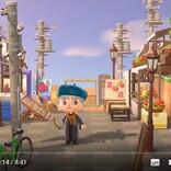 『あつまれ どうぶつの森』で日本風の街を作る海外ユーザー とりあえず自販機と電柱おけばそれっぽくなるようで