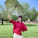 石川恋 三つ編みおさげ姿にファン悶絶、まるで「メリーポピンズ」