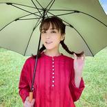 石川恋、ガーリー衣装&三つ編みおさげ姿にファン悶絶!