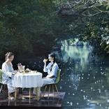 星野リゾート「サガリバナ」の絶景ポイントで朝食を