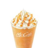 【マクドナルド】メロンの芳醇な風味のフラッペが、人気のミルク味と初のチョコ味の2種で登場!