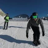 ゲレンデ初心者でも楽しめる!ローラーブレード感覚で滑れる「snowfeet」