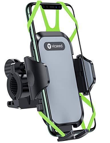 【正規品保証】自転車 スマホ ホルダー ワンボタン 1秒リリース バイク スマホホルダー スマートフォン振れ止め ステンレス鋼台座 脱落防止 優れた耐久性 強力な保護 バイク用 スマホ固定 携帯ホルダー 防水 4.5~7.2インチのスマホに適用 iphoneXR android Samsung Sony LG HUAWEI 多機種対応360度回転