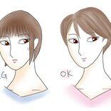 面長顔は「タイト感のある髪」でオバ見えする!【面長顔のNGヘア】
