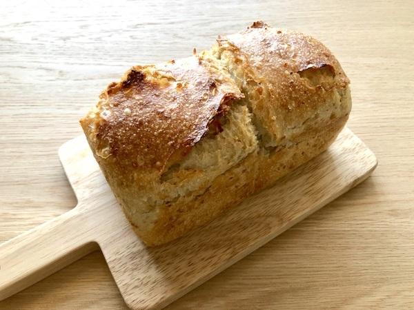 米粉と玄米の食パン
