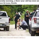 オムツだけで行方不明になった自閉症の3歳児、2頭の飼い犬が守り抜く(米)