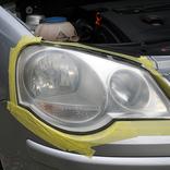 黄ばんだクルマのヘッドライトは素人作業でどこまでキレイにできるのか?