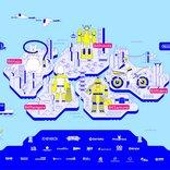 今週末開催のインディーゲームオンラインイベント「BitSummit Gaiden」のフロアマップと配信スケジュールが発表