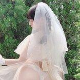 2.5次元モデル・あまつ様が雑誌「ヤングドラゴンエイジ」に登場し花嫁グラビアを披露!