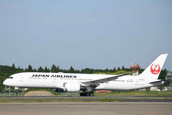 JAL(ボーイング787-9型機)