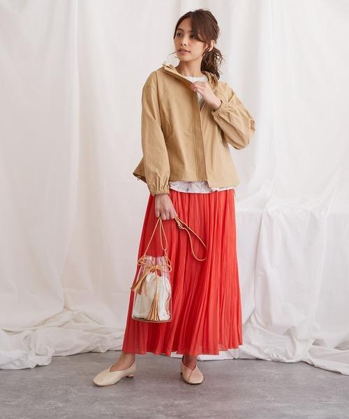 [COLLARS] 【FLEUR DE KALINA/フレール ドゥ カリーナ】消しプリーツスカート