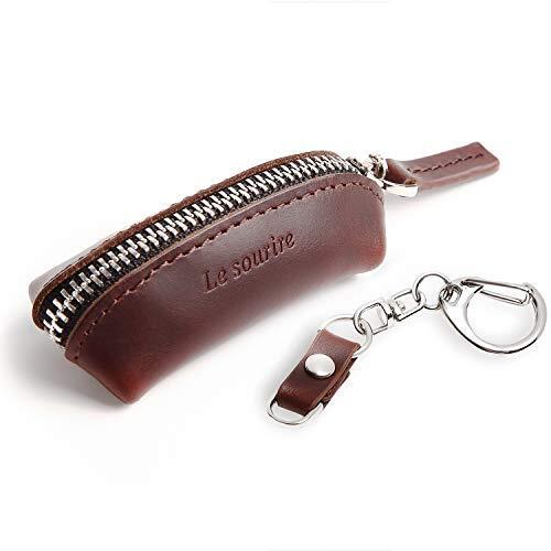 [Le sourire] 小銭入れ メンズ コインケース 財布 本革 コンパクト 小さい ミニ レザー ルスリール ダークブラウン