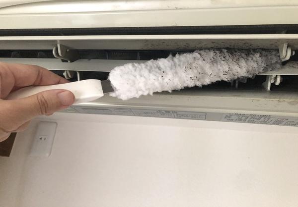 コパ・コーポレーション エアコン専用ブラシ「ファンファン」
