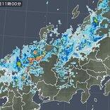 雨雲は次第に東へ 東海から北陸は激しい雨に 関東も夕方から雷雨