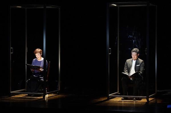 (左から)大竹しのぶ、中村勘九郎 撮影:宮川舞子