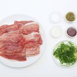 レンジでチンして和えたらすぐ完成。「ゆで豚の柚子胡椒和え」超時短レシピ