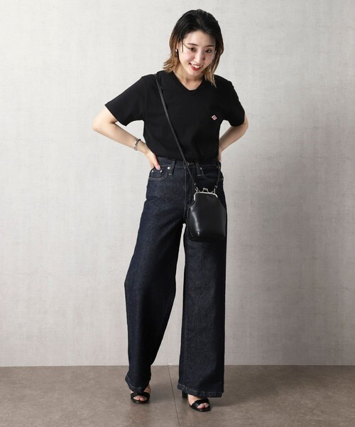 [FREAK'S STORE] 【WEB限定】Danton/ダントン V-NECK T-SHIRTS/VネックTシャツ